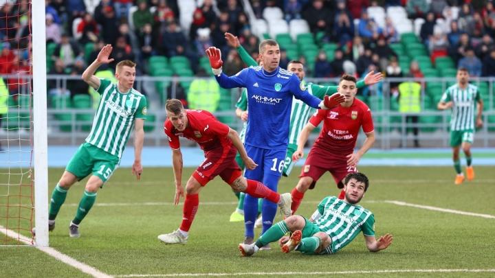 ФК «Уфа» проиграл третью игру подряд