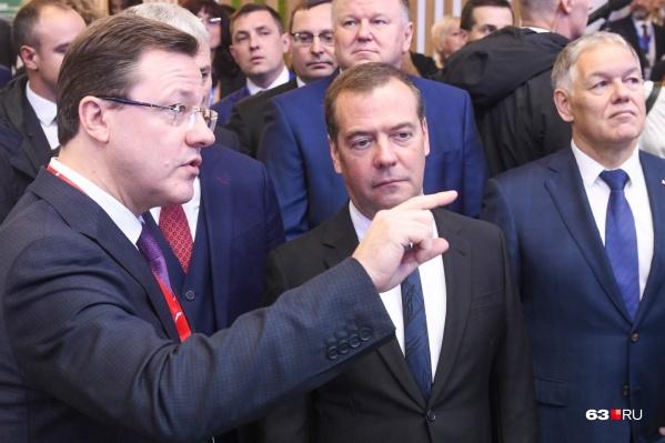 Правительство Дмитрия Медведева включило Дмитрия Азарова в топ-50 эффективных высших должностных лиц регионов
