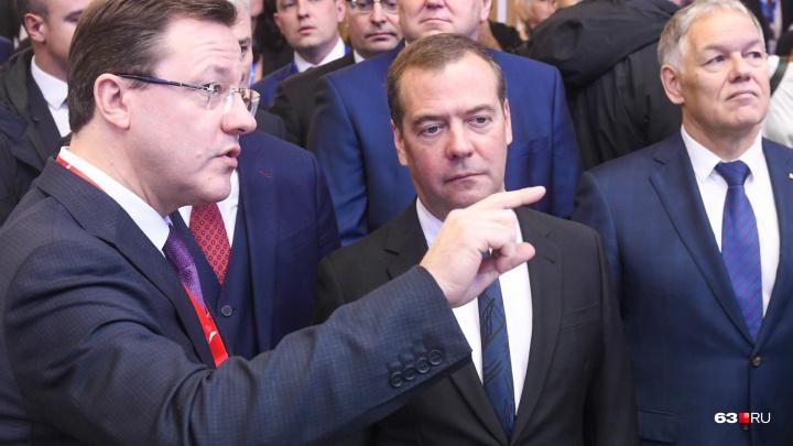 Губернатору Дмитрию Азарову выделят полуторамиллиардный грант