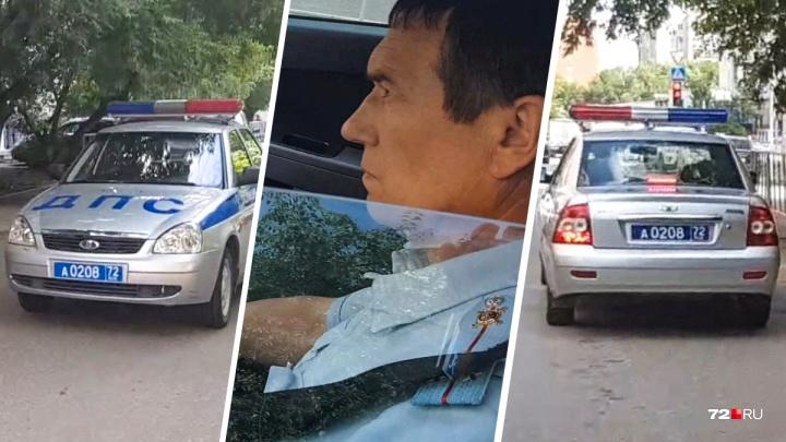 По жалобе тюменца, который бегал за инспектором-нарушителем и снимал всё на видео, проведут проверку
