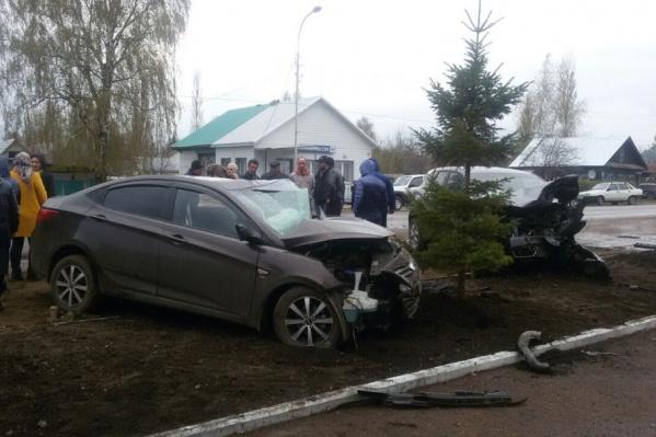 Авария унесла жизни двоих человек