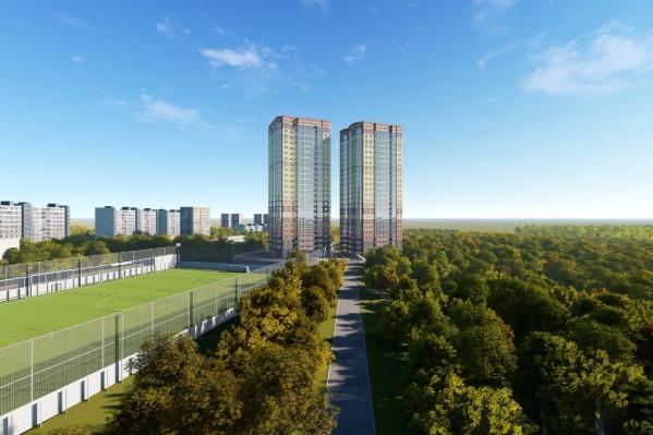«Днепровская роща»объединит в себе современную жизнь мегаполиса, природную чистоту и тишину