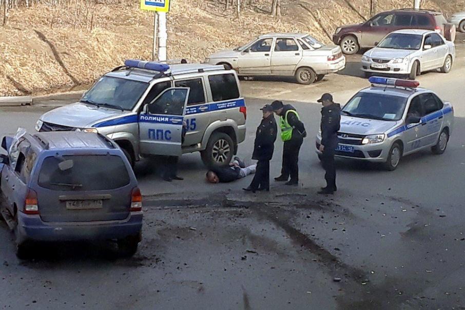 Авария произошла около дома № 3 на улице Загородной