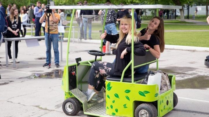 Тольяттинские студенты спроектировали электрокар, работающий на солнечной энергии