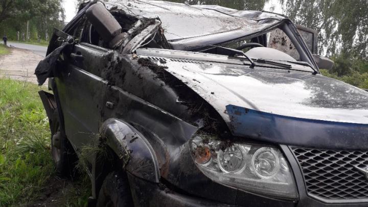 Два ребёнка в больнице: подробности ДТП в Ярославской области, где пострадала многодетная семья