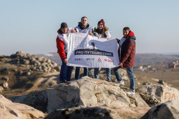 Волгоградские путешественники за два дня преодолели более 700 километров по бездорожью