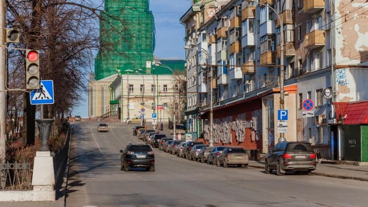 Реконструкцию Комсомольского проспекта в Перми закончат в 2022 году