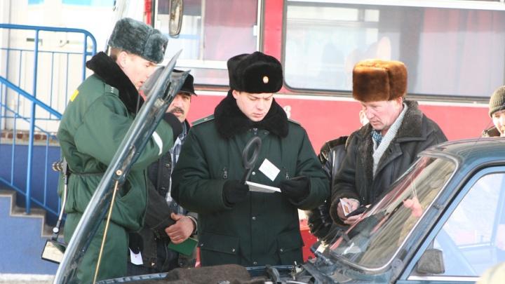 Муку, жир и молочную продукцию из Кургана отправили обратно в Казахстан