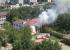В Екатеринбурге горит здание школы, построенное в 1949 году