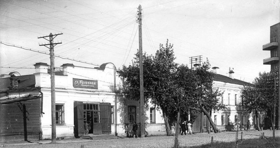 Улица 9 Января, дом 2. 1970-е годы.<br>Фотограф Л. Д. Злоказов