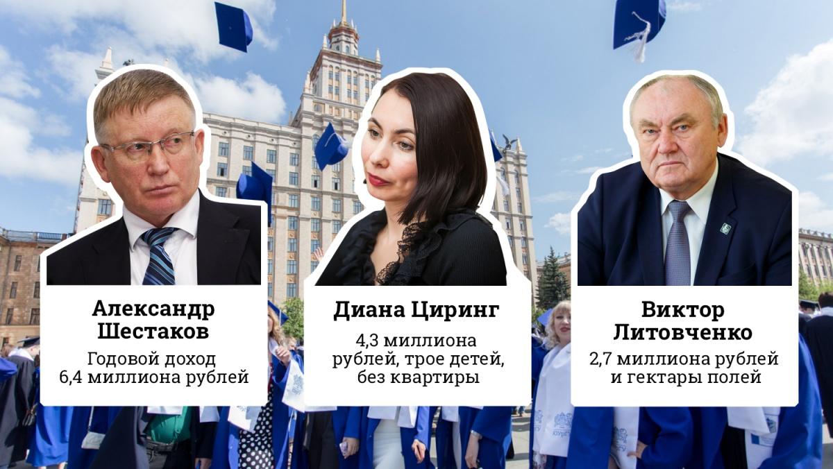 Мы изучили декларации о доходах ректоров ведущих вузов Челябинска