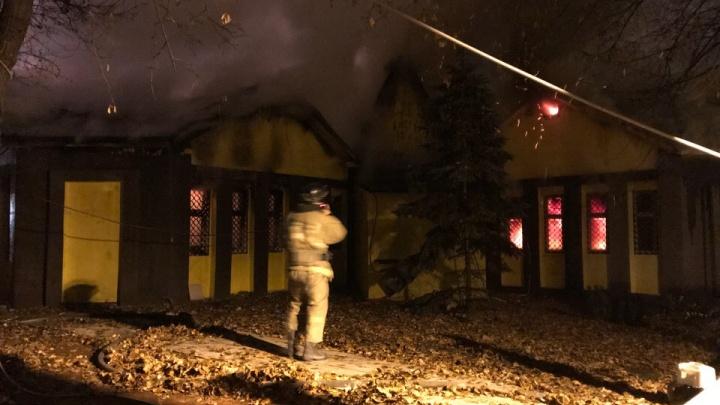 Ночью в Самаре сгорел трактир «Разгуляево»