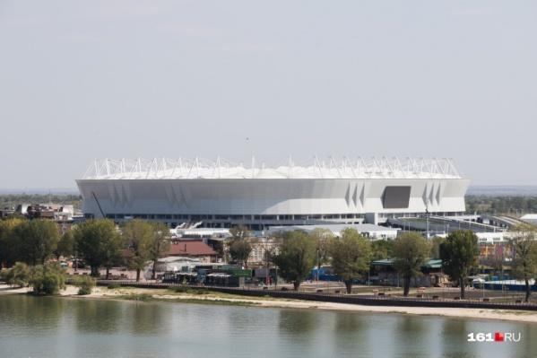 ФК «Ростов» задолжал компании 14,4 миллиона рублей