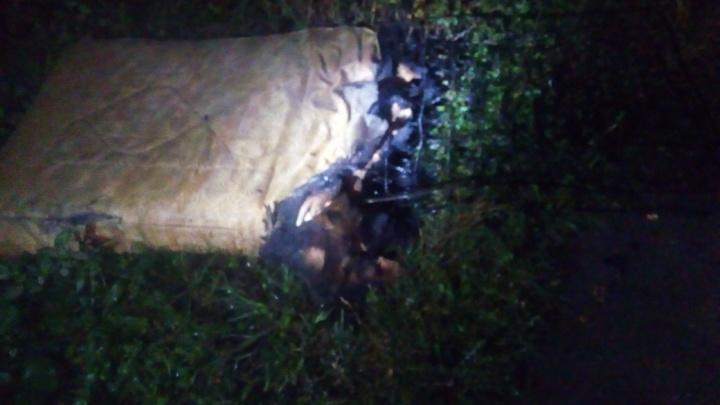 Мужчина отравился угарным газом во время ночного пожара в многоэтажке в Башкирии