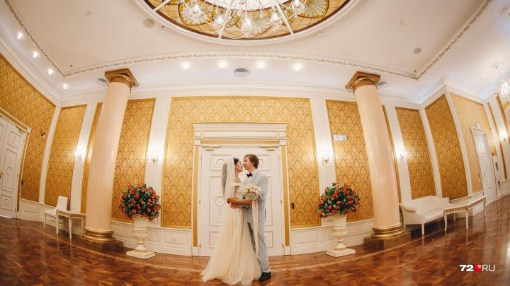 Ноябрь в Тюмени станет самым провальным месяцем по количеству свадеб
