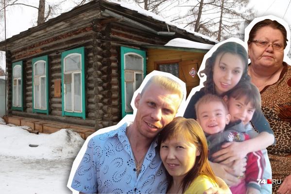 Супруги Шевченко, их трое детей и мама ютятся в доме сторожа уже семь лет
