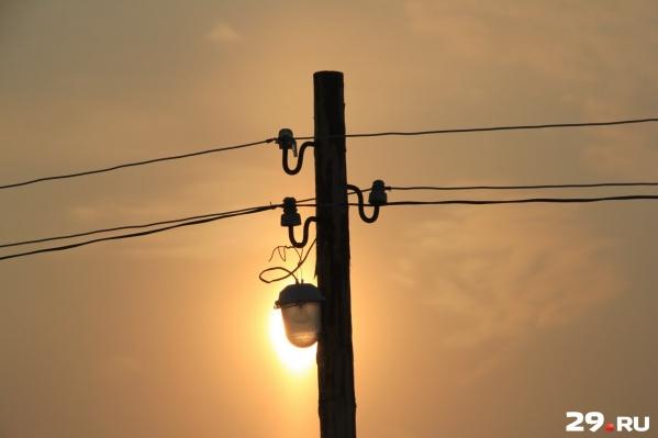 Проблемы со светом решат до конца рабочего дня