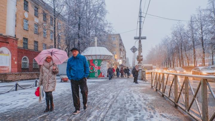 Осторожно, ветер и дождь со снегом. МЧС предупредило об ухудшении погоды в Прикамье