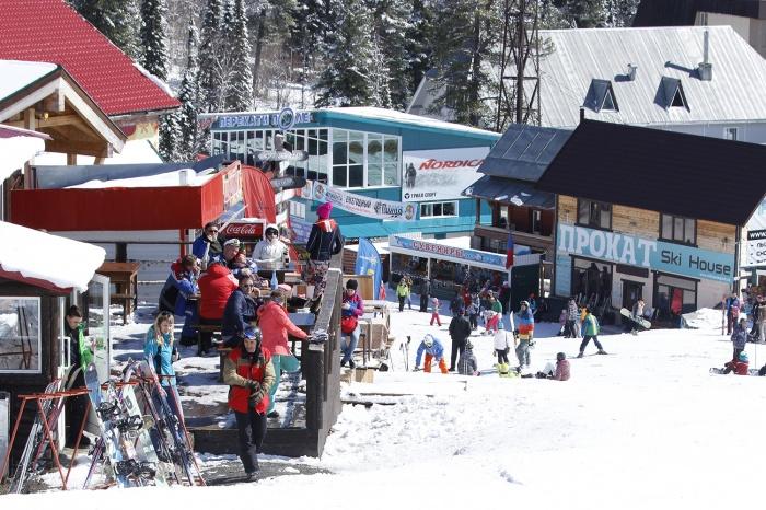 Прокат горнолыжного оборудования есть не только на курортах, но и в городе