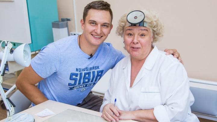 Хоккеисты «Сибири» вышли с каникул и отправились по врачам