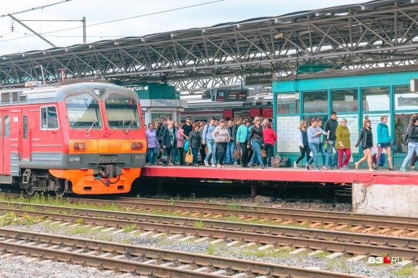 Акцию на железной дороге приурочили ко дню Победы