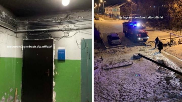 «Спускались с младенцем по пожарной лестнице»: в Уфе поджигатели терроризируют жильцов старого дома