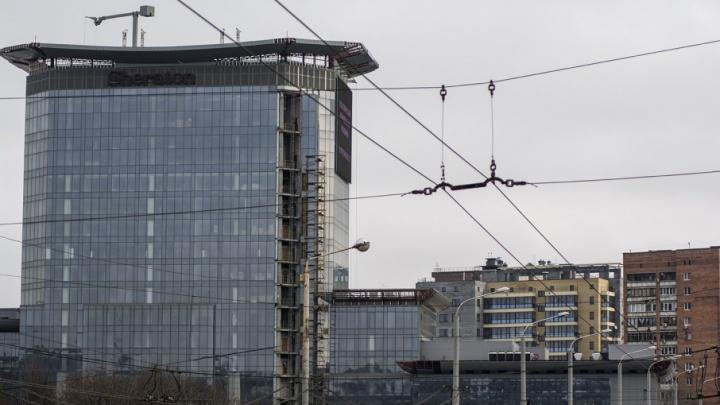 Недостроенную ростовскую гостиницу «Шератон» оценили в 1,3 миллиарда рублей
