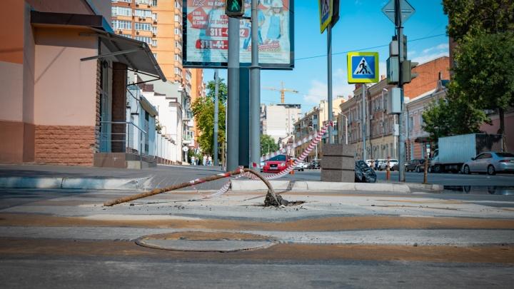 В центре Ростова и на Западном ограничат движение для водителей и пешеходов