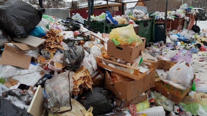 «Это не наше»: новый концессионер свалил мусор Волгограда на предшественников