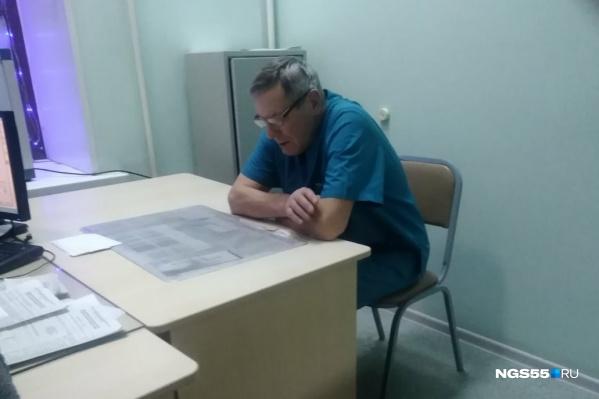 Евгения Батушенко оперативно сменили, вызвав на место другого врача