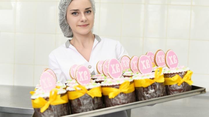 Волгоград отметил Пасху: в торговой сети «Радеж» выпекли тысячи ароматных куличей