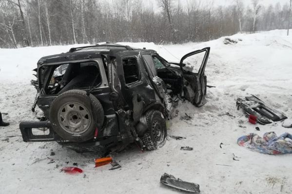Авария случилась на 116-м километре автодороги
