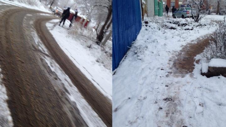 В центре Уфы полицейские оцепили квартал