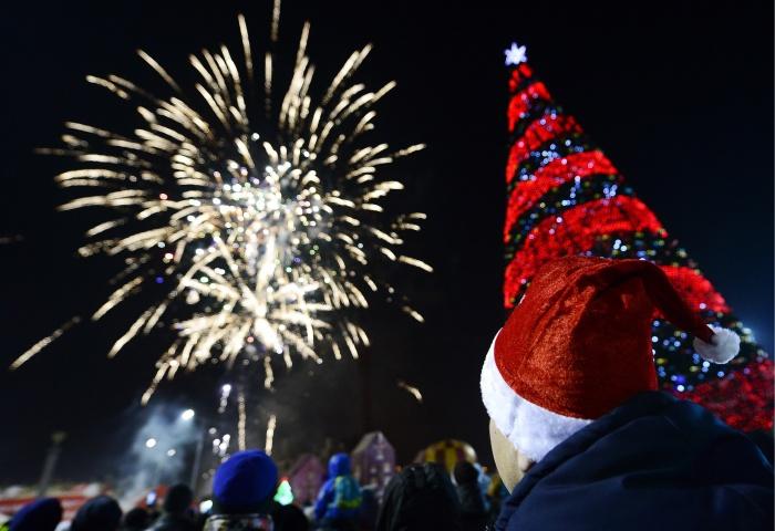 Одевайтесь теплее в новогоднюю ночь — будет довольно морозно