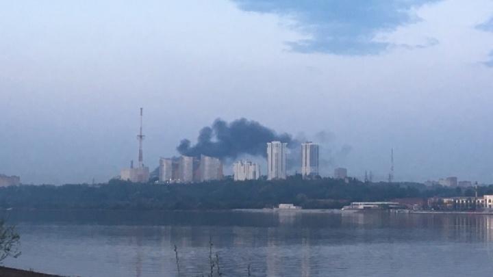 Дым было видно даже за Камой. В Перми сгорел рейсовый автобус