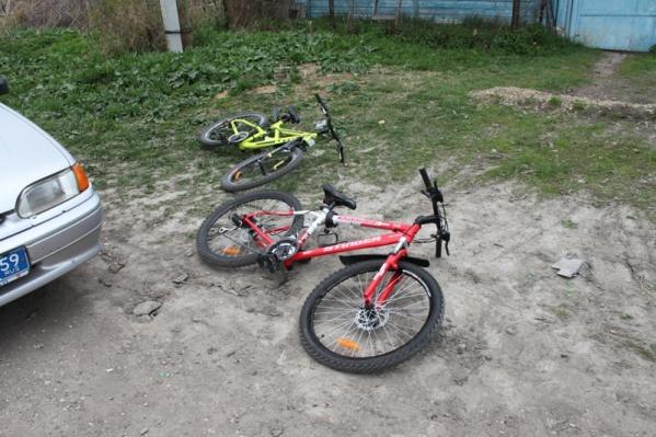 Пропавшие велосипеды нашли быстро