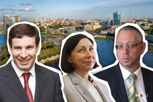 Василий Московец (справа налево), Наталья Котова и — неожиданно — Михаил Юревич — лидируют в народном голосовании