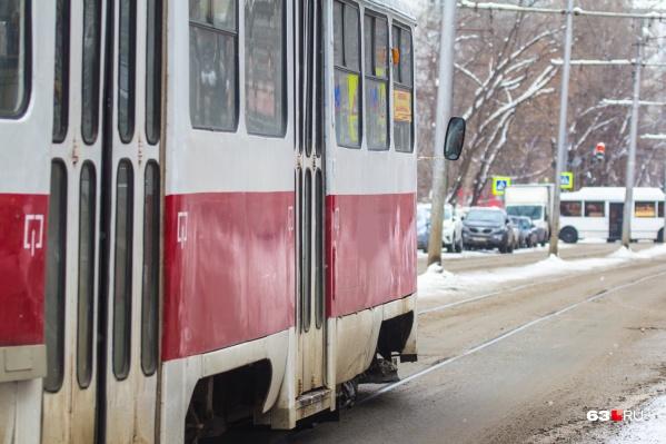 Транспорт пойдет в обход обесточенного участка дороги