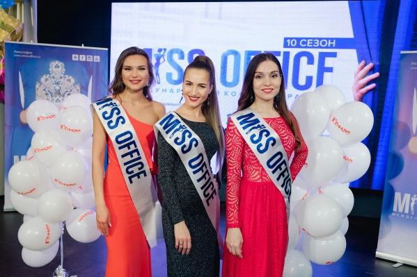 Слева направо: Елизавета Знагован, Анастасия Томашева, Алёна Тарасова