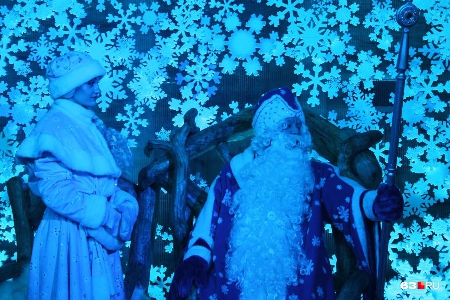 Зимний волшебник зажжет главную новогоднюю елкуСамары