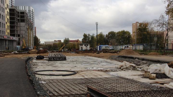 В Перми участок улицы Революции от Куйбышева до Компроса откроют в конце года