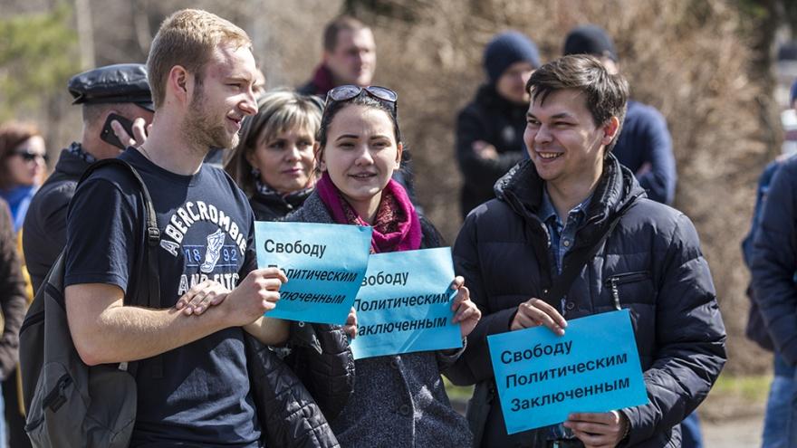 Волгоградские оппозиционеры не захотели поддержать политзаключенных