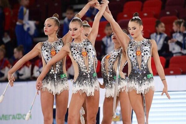 Ростовская гимнастка в составе команды завоевала три золота