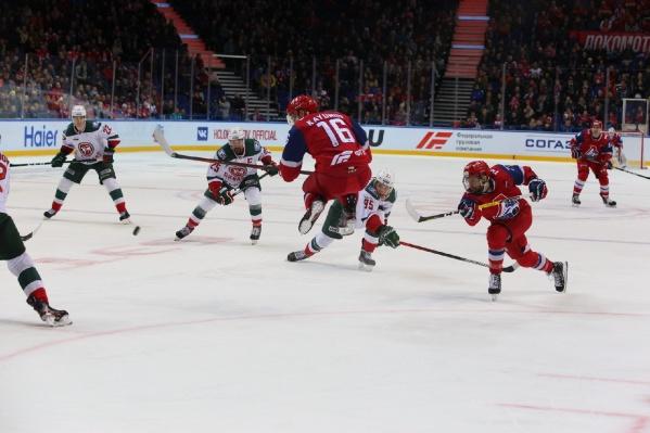 Ярославцы не смогли отыграть ни одной шайбы