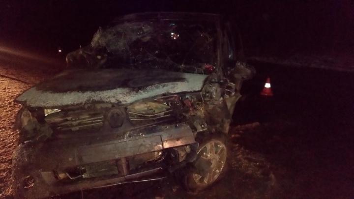 В Прикамье при столкновении двух иномарок пострадали мама с двухмесячным ребенком