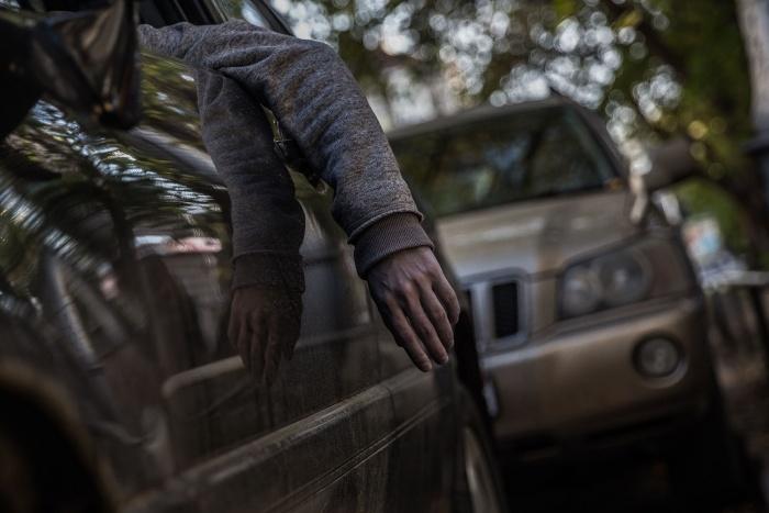 Пропавшего нашли в машине на ул. Лескова