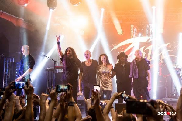 Тарья дает концерты в поддержку своего нового альбома