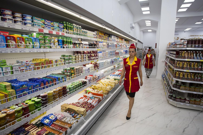 Площадь магазина увеличилась, а количество товаров выросло на 30%