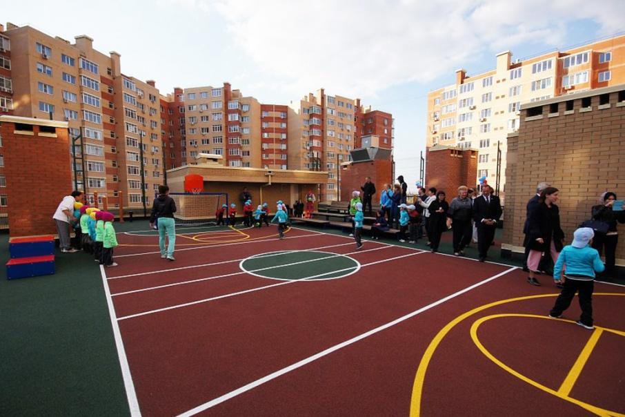Открытия площадки с нетерпением ждали и дети, и родители