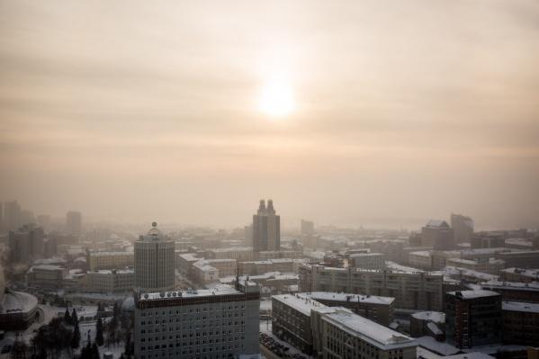20 декабря в городе резко понизится температура, а днём будет холоднее, чем ночью